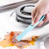Honana HN-W2 Creative Kitchen Stains Cleaning Brush House Scraping Stove Dirt Tool Opener