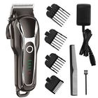 Promotion SURKER Barber Salon Electric Hair Clipper Rechargeable LED