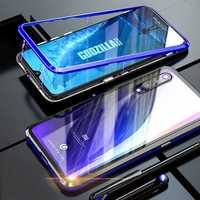 Bakeey Upgraded Version 360º Full Body Tempered Glass Metal Magnetic Adsorption Flip Protective Case For Xiaomi Mi 9 SE