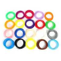 1.75mm 20 colors 5/10m x ABS/PLA Filament For 3D Printer Pen