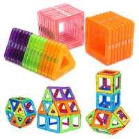 32PCS Magnetic Blocks Magnet Tiles Kit Building Play Toy Boys Girls Kids Gift