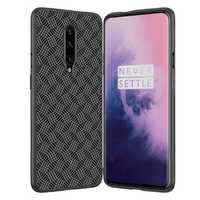 NILLKIN Slight Synthetic Fiber Plaid Anti-scratch Anti-fingerprint Protective Case for OnePlus 7 Pro