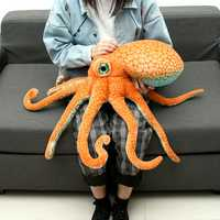 80CM Huge Funny Cute Octopus Squid Stuffed Animal Soft Plush Toy Doll Pillow Gift
