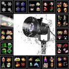 Les plus populaires ARILUX® 16 Patterns 8W Remote Christmas Stage Light Projector Waterproof Spotlight Halloween Party