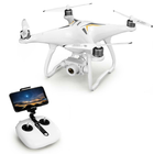 Meilleurs prix JJRC X6 Aircus 5G WIFI FPV Double GPS With 1080P Wide Angle Camera Two-Axis Self-Stabilizing Gimbal Altitude Mode RC Drone Quadcopter RTF