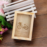 Multi-Size Family Vintage Pictures Frame Home Decor Wooden Wedding Room Desk Photo Frames