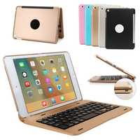 Aluminum Alloy Wireless bluetooth Keyboard Case For iPad Mini 4