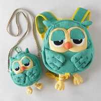 Plush Owl Backpack Children Crossbody Bag Set Kid Boys Cute Cartoon Animal Toy Walking Safety Harnes