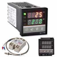 REX-C100 220V Digital PID Temperature Controller Kit