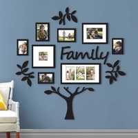 Family Tree Frame Collage Pictures Photo Frame Collage Photo Wall Mount Decor Wedding