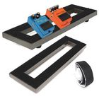 Meilleurs prix Guitar Setup Pedal Board With Trolley Fixed Effects Tape Adhesive Backing