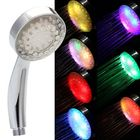 Meilleur prix 7 Colors Automatic Changing LED Shower Head Bathroom Shower Water Saving Spray