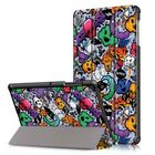 Offres Flash Tri-Fold Tablet Case Cover for Samsung Galaxy Tab S5E SM-T720 SM-T725 Tablet - Cloud