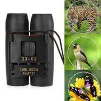 IPRee® 30x60 Folding Binocular HD Red Coated Film Lens Telescope Low Light Level Night Vision 126M/1000M