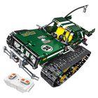 Meilleurs prix 13025/26 2.4G Suspension Vehicle Building Block Kits Tracked RC Car DIY Bricks Toys 626Pcs