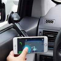 Bakeey™ ATL-3 2 in 1 Magnetic Phone Stand Sucker Car Air Outlet Holder for iPhone Samsung Xiaomi