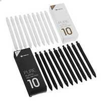 10pcs/set Original Xiaomi Mijia Kaco 0.5mm Gel Pen Smooth Writing Durable Signing Pen Black Refill