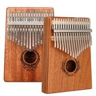Discount pas cher 17 Keys Mahogany Kalimba Thumb Finger Piano with Turning Stick/Finger Sleeve/Sound Sticker/Posts/Cloth/Bag