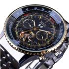Recommandé JARAGAR F120506 Fashion Automatic Mechanical Watch Stainless Steel Strap Men Wrist Watch