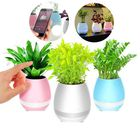 Meilleurs prix Potted Rims Speakers Creative Intelligent Music Speaker Flower Pot Toys Of Wireless bluetooth Stereo
