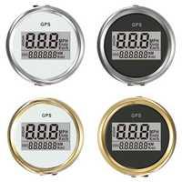 4 Types Auto Gauge Digital GPS Speedometer 52mm Speed Odometer Speed Chart
