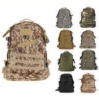 40L Outdoor Tactical Backpack Shoulder Bag Rucksack For Camping Hiking Trekking 6 Colors