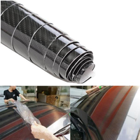 6D Gloss Carbon Fiber Car Stickers Vinyl Wrap Film Decals