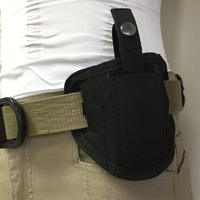Concealed Carry Gun Holster Holder For Women Men Running Mountain Biking Tactical Bag For Belt Strap