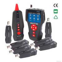 New NF-8601W Multifunctional Network Cable Tester LCD Cable length Tester Breakpoint Tester