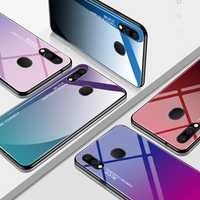 Bakeey Gradient Tempered Glass Protective Case For Samsung Galaxy M20 2019 Scratch Resistant Back Cover