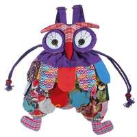4 Colors Baby Owl School Backpack Kid Child Shoulder Bags