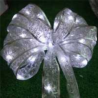 Christmas 4M 40 LED Ribbon Light String Indoor Wedding Room Christmas Decorative Lights Battery