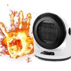 Discount pas cher 1000W Fan Heater Portable Remote Control Electric Winter Warmer Fan Desk Camping Home Heating Device
