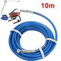 10m Length Airless Sprayer Fiber Tube 1/4 Inch 5000PSI Airless Spray Hose