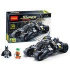 Promotion Decool 7105 The Joker Super Hero Building Blocks Toys Bricks Car Set 325PCS