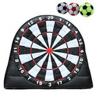 Prix de gros 4M/13ft High Giant Game Soccer Balls Inflatable Dart Board With 220V Air Blower Toys