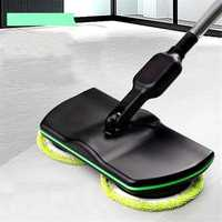 Wireless Rotary Electric Rechargeable Floor Mop Home Cleaner Scrubber Polisher
