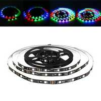 LUSTREON 1M 2M 3M 4M 5M Non-waterproof IC UCS1903 Programmable Magic Color LED Strip Light DC12V