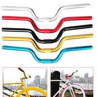 BIKIGHT 1pc Aluminum Alloy Handlebar Bicycle Sporting Bike for Fixed Gear General 520mm