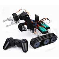 SNAR20 Arduino DIY RC Robot Arm Tank Acrylic With PS2 Stick