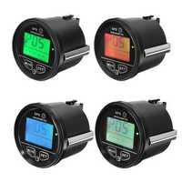 60mm GPS Speedometer Odometer LCD Digital Display 12V 24V for Motorcycle Marine Boat Truck