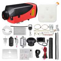 12V 8KW Diesel Air Heater Diesel Fuel Parking Heater LCD Switch Warming Equipment Kit