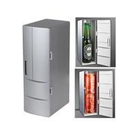 USB Mini Fridge Portable Refrigerator Beverage Drink Can Cooler Warmer Freezer