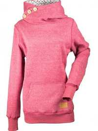 Pure Color Long Sleeve Turtleneck Hoodies Women Sweatshirts