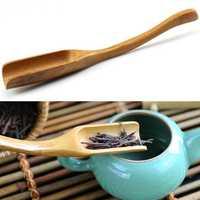 Bamboo Tea Spoon Curved Tea Spoon Tea Leaves Measurement Kungfu Tea Acessaries