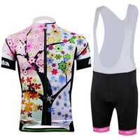 AOGDA Tree Bike Clothing Suit Bicycle Arm Warmers Short Sleeves Set for Women