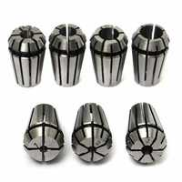 Machifit 7pcs ER11 1-7mm Spring Collet Chuck for CNC Milling Lathe Tool