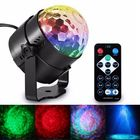 Recommandé 6W LED Remote Control Crystal Magic Ball Stage Light Water Wave RGB Effect for Christmas KTV Party