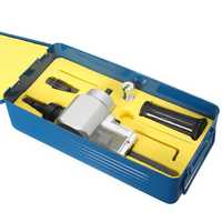 Double Head Sheet Metal Nibbler Cutter With Metal Box YT-180A Cutting Saw Tool Power Drill Attachment