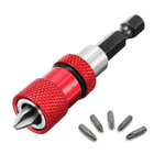 Recommended Drillpro Adjustable Screw Depth Magnetic Screwdriver Bit Holder with 5pcs PH2 Scewdriver Bits
